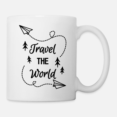 Travel tavel the world - Tasse