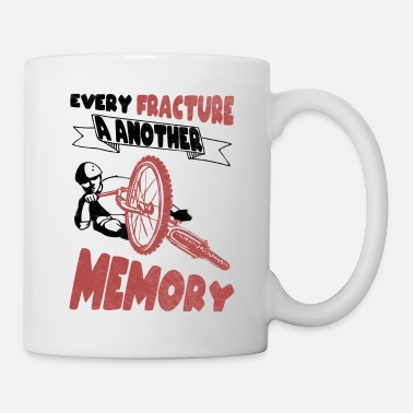 Bike Every break a new memory bike cycling - Mug
