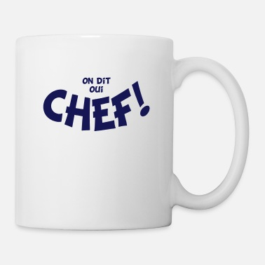 Chef On dit oui chef mono - Mug