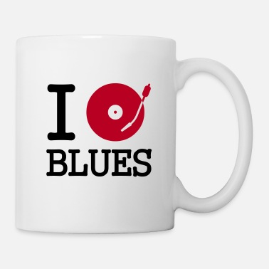 Musique i dj / play / listen to blues - Mug