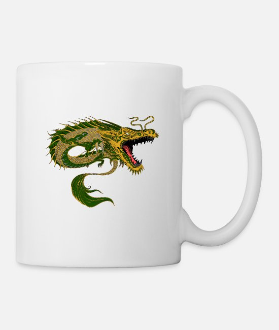Fantasy Mugs & Drinkware - Dragon Chinese - Mug white