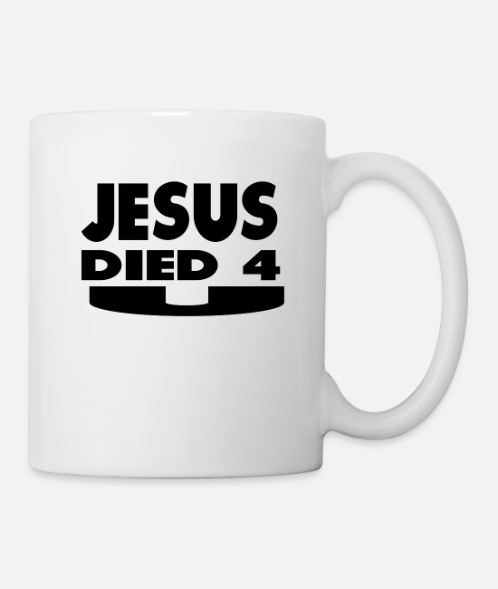 Easter Mugs & Drinkware - Jesus Died For You - Mug white