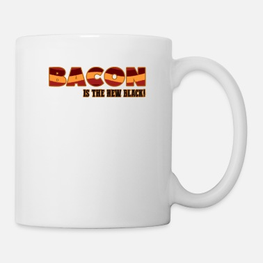 Bacon Bacon is the new black BBQ bacon barbecue gift - Mug
