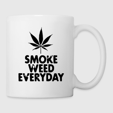 smoke weed everyday leaf - Mug