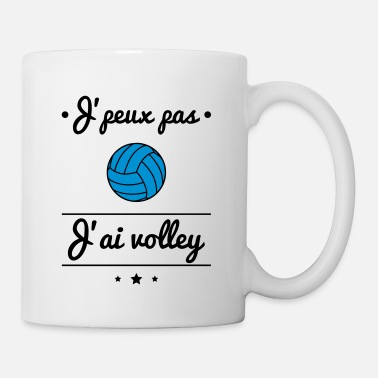 Volley J'peux pas j'ai volley, volleyeur, volleyeuse - Mug