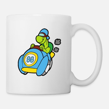 Amusement tortue - Mug blanc