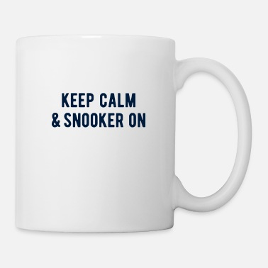 Target POOL / BILLIARDS: Keep calm & snooker on - Mug