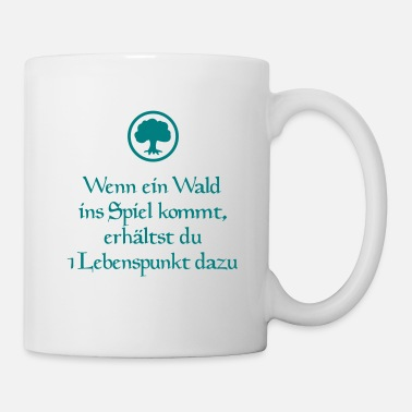 Cards Magic Wald Lebenspunkt - Tasse
