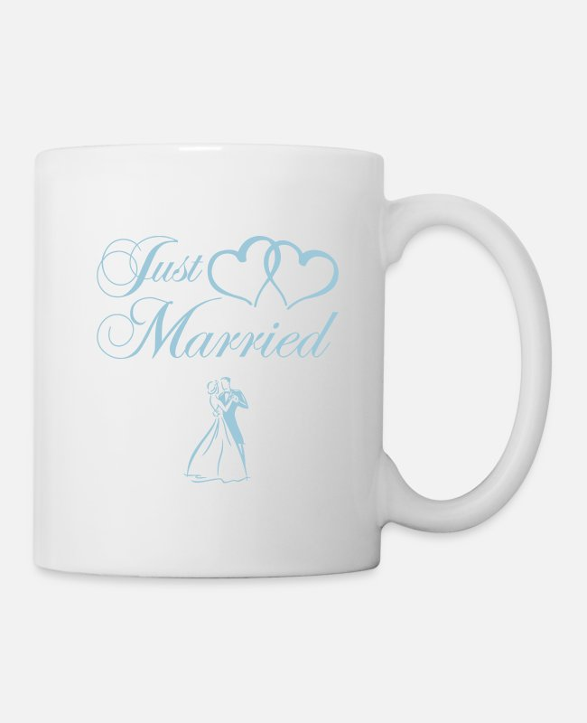 Just Maried Mugs et tasses - just_married_couple - Mug blanc
