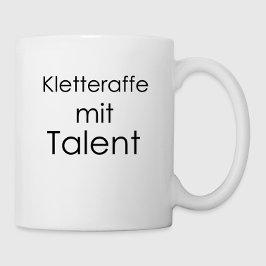 Kletteraffe mit Talent - Tasse