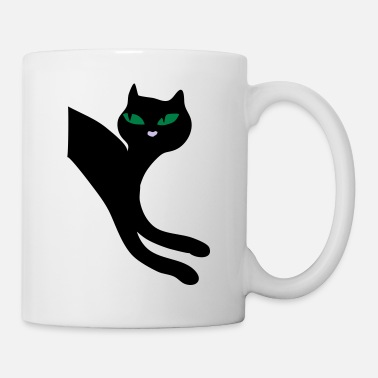 Peep Cheeky retro kitty cat - Mug