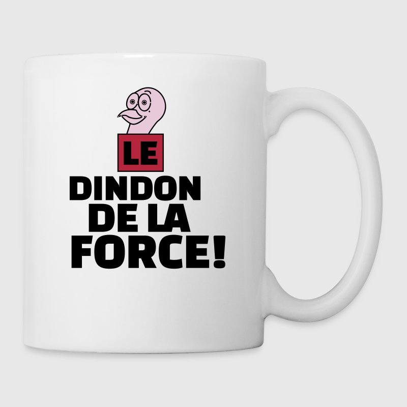 dindon de la force - Mug blanc