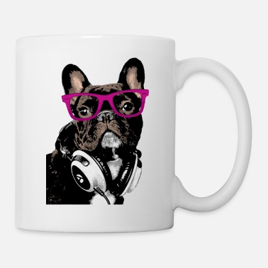 Bulldog Francese AD Hipster Frenchie - Tazza