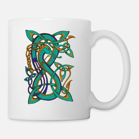 Symbole Mugs et récipients - Celtic dragon - Mug blanc