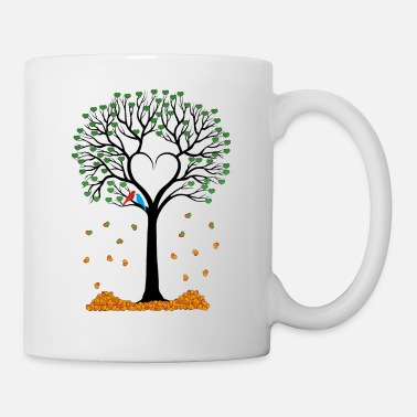 Colour A tree of lovers - Mug