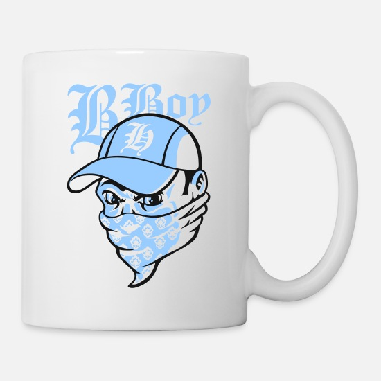 Rap Mugs & Drinkware - Bboy - Mug white