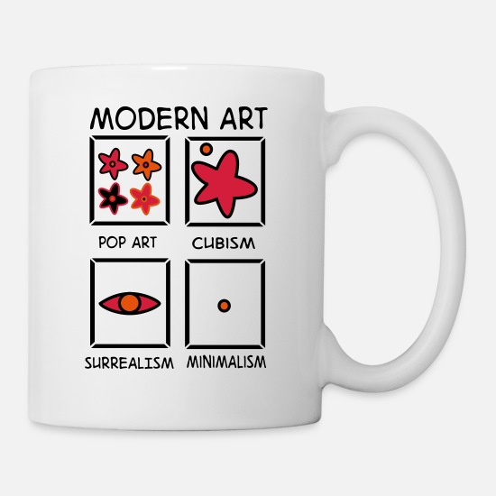 Art Mugs & Drinkware - 2541614 122757476 Art - Mug white