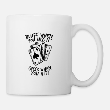 Bluff Poker - Bluff, Check, Bet - Mug
