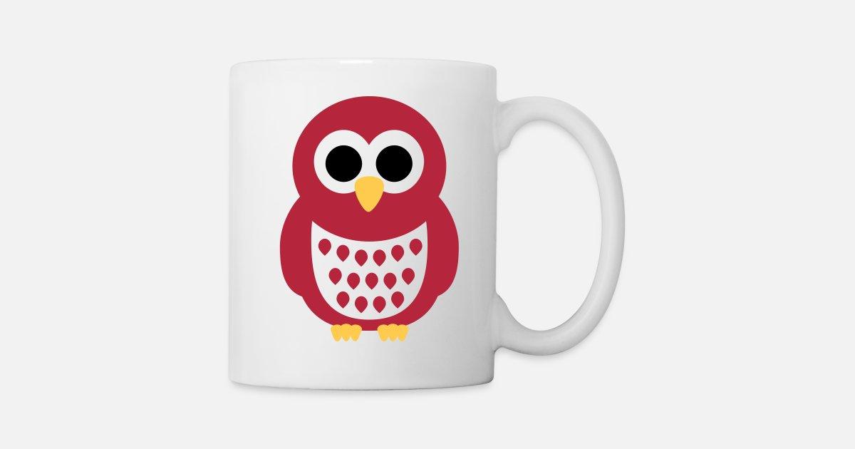Kinder Tasse Kleinkinder Hoot Eule Tasse Bitte personalisierbar