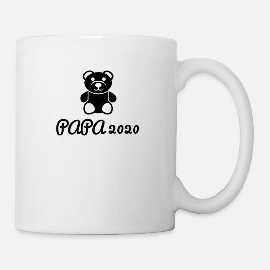 Gift Idea Mugs & Drinkware - Daddy 2020 - Mug white