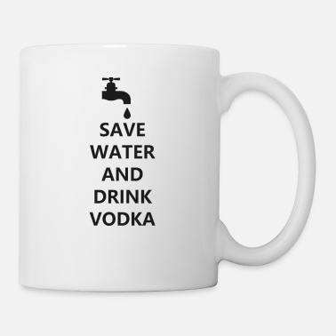 Bar-pub Water vodka funny drunk cocktail bar pub - Mug