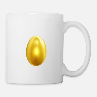 Gold Golden Gold Goldenes Egg Ei - Tasse