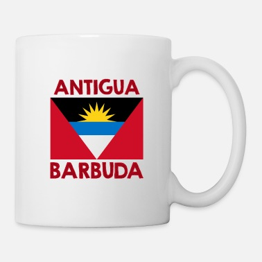 Antigua Antigua & Barbuda Flag Antiguan Caribbean - Mug
