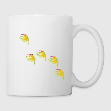 five hummingbirds - Mug blanc