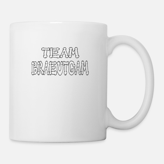Gift Idea Mugs & Drinkware - Team groom - Mug white