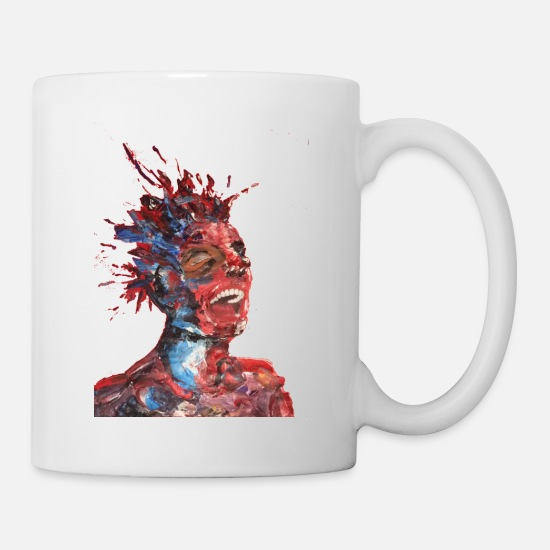 Art Mugs et récipients - expression - Mug blanc
