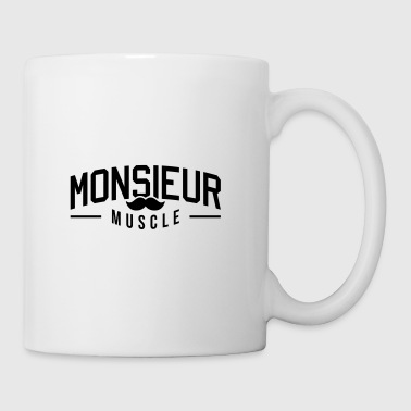 Monsieur-muscle - Mug blanc