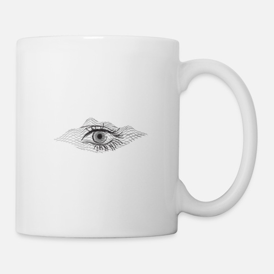 Hypnotic Mugs & Drinkware - Astral projection - Mug white