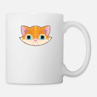 Art Deco Cat abstract art design - geometric - Mug