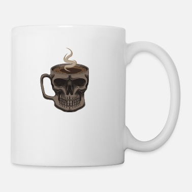 Break Skeleton Mug Skull Coffee - Mug