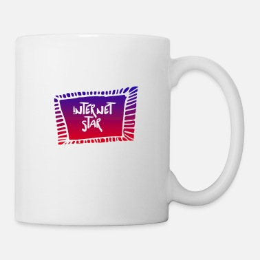World Wide Web Internet star - Tasse