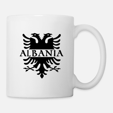 Love You Albanian Eagle Albania Albanian Shqiptar - Mug