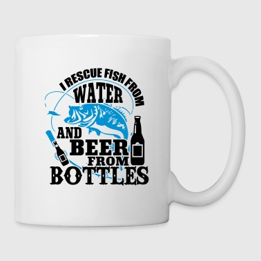 i rescue fish from water and beer from bottles - Mug