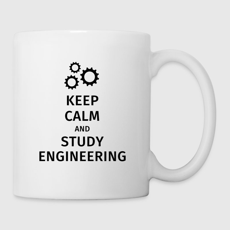 keep calm and study engineering - Mug