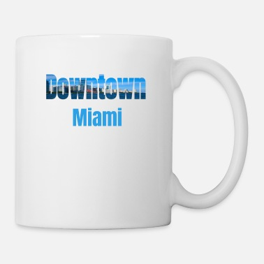 Tourist Downtown Miami, Verenigde Staten, Country Tourist Gifts - Mok
