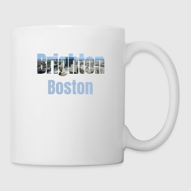 Community Brighton Boston, USA Land, Stadt Neigborhood touristische Geschenke - Tasse