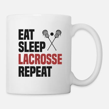 Image Cool Funny Lacrosse fan coach team jersey - Mug