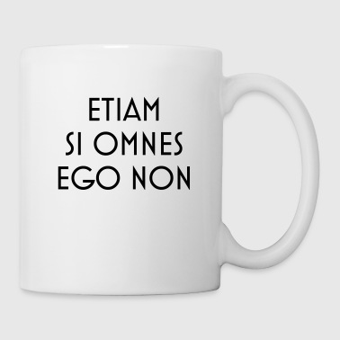 latin motto - Mug