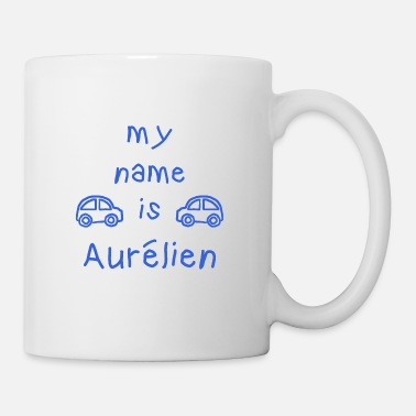 Aurélien AURELIEN MY NAME IS - Mug blanc