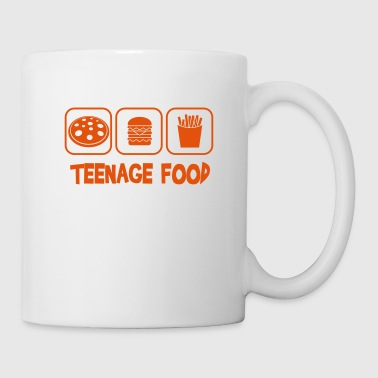Teenage food - Mug blanc