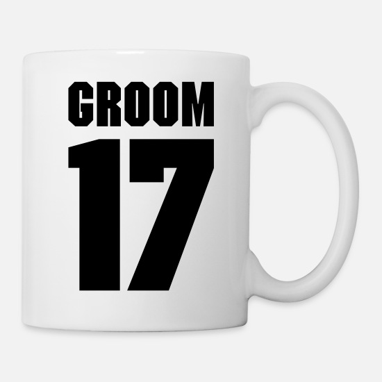 Baby Mugs & Drinkware - Groom 17 - Mug white