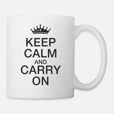 Keep Calm Keep calm - Tazza