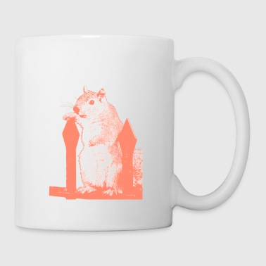 Lord Squirrel rose - Tasse