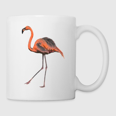 Chrome-Flamingo - Tasse