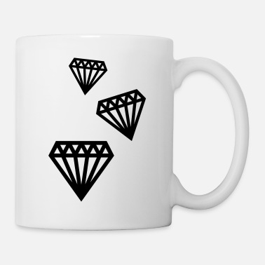 Bling diamonds_1__f1 - Mug