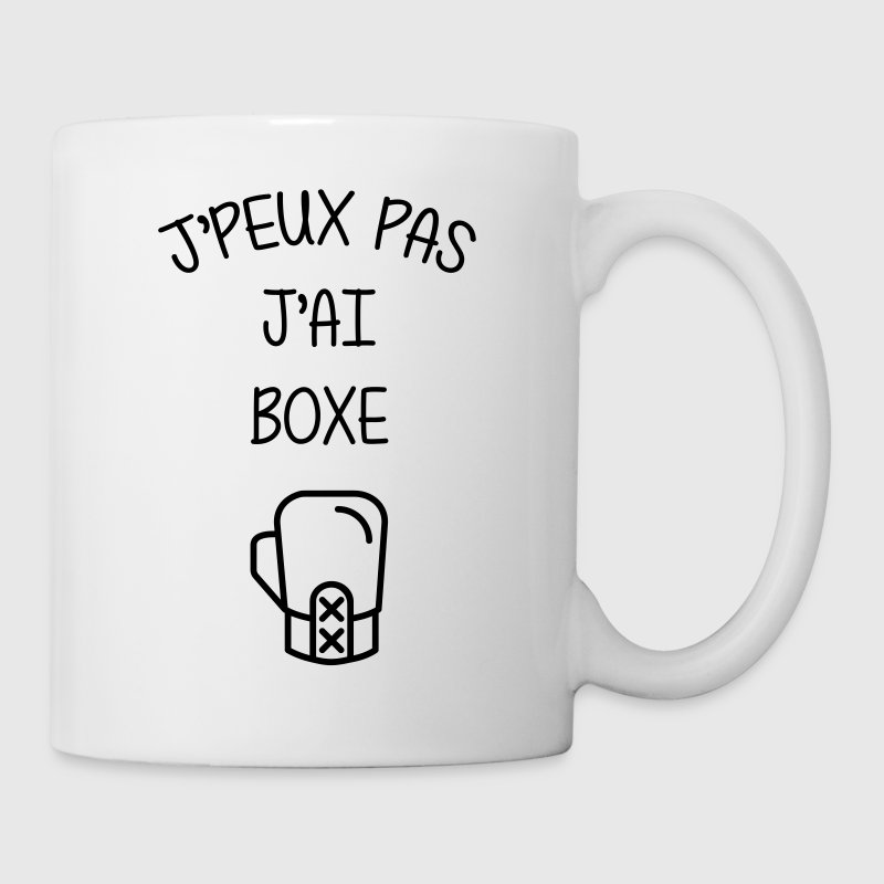 Boxe / Boxeur / Fighter / Combat / Fight / Sport - Mug blanc